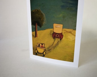 Jalopies - Greeting Card