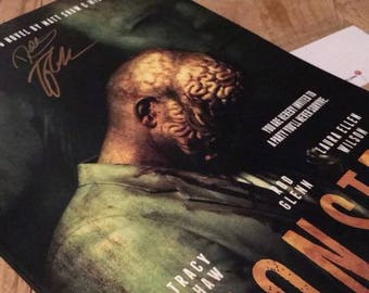 MONSTER, the feature film. SIGNED poster.