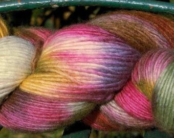 Manos del Uruguay Maxima - Wildflowers - Worsted Weight Hand Dyed 100% Merino Extrafine Yarn