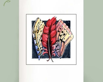 Wings - Set of 6 Note Cards