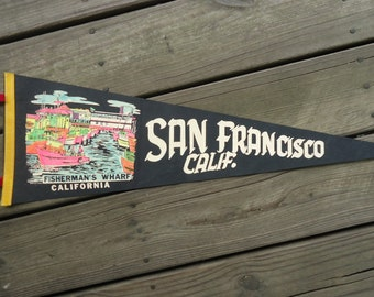San Francisco Fisherman's Wharf Banner