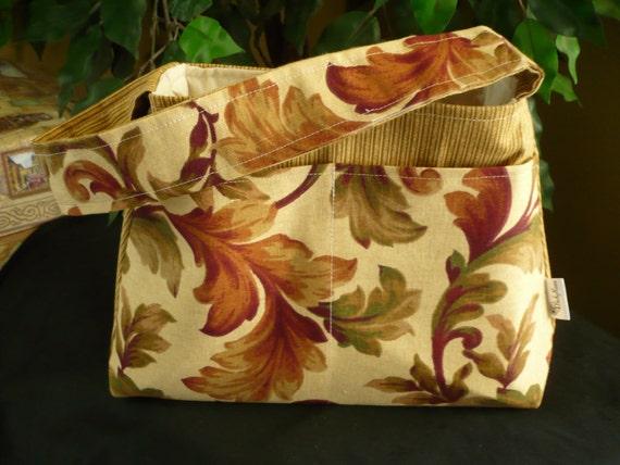 Paisley Beige Mini Diaper Bag