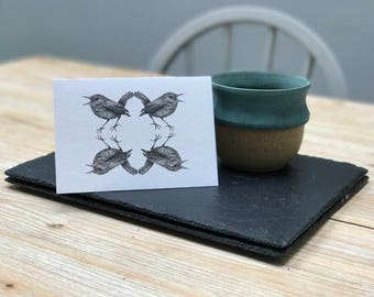 Wren Card, designed & made in the UK