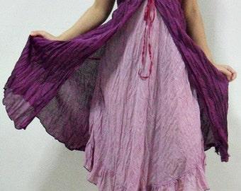 Purple Lady Dress