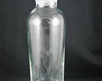 Crystal Decanter for Wine, Oils or Vinegars Excellent Condition
