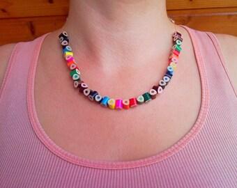 Colored pencil necklace, art teacher gift, art teacher necklace, art teacher birthday gift, art teacher pencil jewelry, gift for art teacher