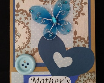 Happy Mother's Day  #03 (Handmade Thought Card)