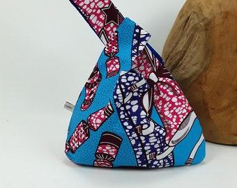 Knitting bag, knitting bag, bag, handbag, purse, pouch, Wristlet