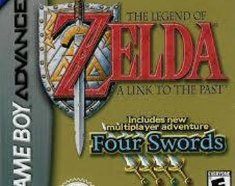 Zelda A Link to the Past + Four Swords Reprogrammed Cartridge