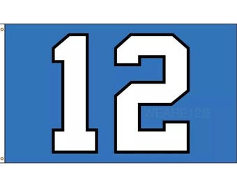 "Original Seattle Seahawks ""12"" Flag | 3x5"