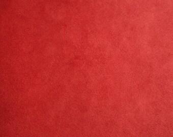Shannon Fabrics Solid Cuddle 3 Scarlett