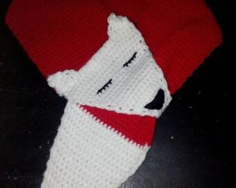 Handmade kids Fox scarf