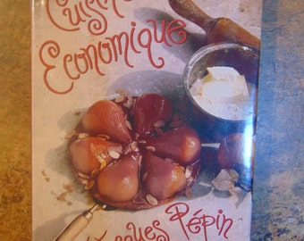 Jacques Pepin   Cuisine Economique   1992   French Cooking  OOP