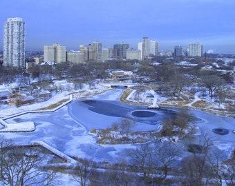 North Pond in Winter