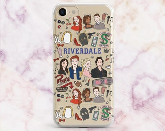 Riverdale iPhone 8 Case iPhone 7 Case Riverdale Galaxy S8 iPhone 8 Plus iPhone X Case iPhone 6S Galaxy S7 Edge Samsung Note 8 iPhone 5 5S SE