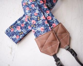 floral camera strap, dslr camera strap, womens accessory, photographer gift, slr camera strap, womens gift, canon strap, camera accessory