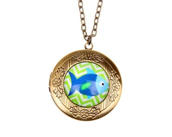 Necklace locket Fish of the Sea 2020m