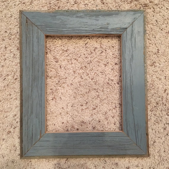 8x10 Rustic Blue Barnwood frames (#5312) from BlueMoonMill on Etsy ...