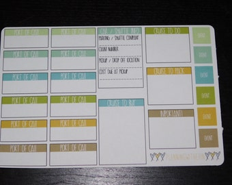Functional Cruise Planner Stickers