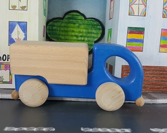 Wooden Toy Car / Wood Toy Car / Waldorf Toys / Handmade Wooden Car / Toddler Toy / Little Truck Toy / Waldorf Toys Car / Waldorf Gift Toys