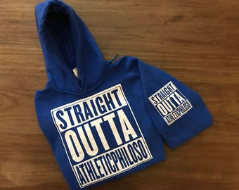 Straight Outta Athleticphiloso Hoodie
