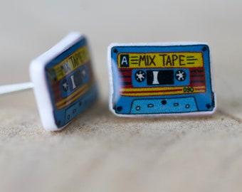 90's Mix Tape Earrings