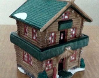 Ski Chalet Authentic Christmas Valley 1996