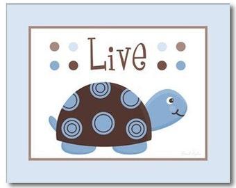 Mod Turtles Wall Art for Nursery