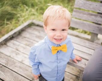 Toddler Bow Tie. Boys Bow Tie. Custom Felt Bow Tie. Toddler Bowtie. Baby Bowtie. Ring Bearer Bow Tie. Boy Accessory. 1st Birthday Bow Tie