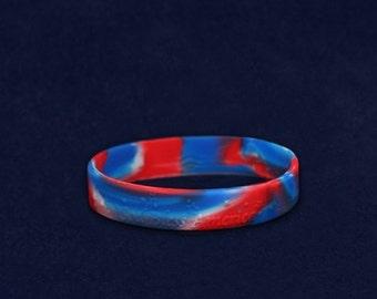 God Bless America Silicone Bracelet (RE-SILB-PT)