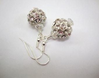 Queen Guineviere Crystal Earrings Brideal Earrings Wedding Jewelry