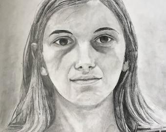 Custom graphite portraits.