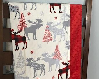 Modern moose blanket