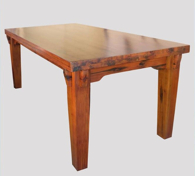 Reclaimed Dining table, Bali Boat Wood Table, Custom Tabletop