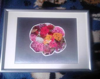 Framed Collage ~ 'Flower of Flowers'
