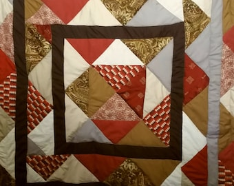 Autumn Colours Queen Quilt
