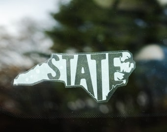 Window Cling - North Carolina State
