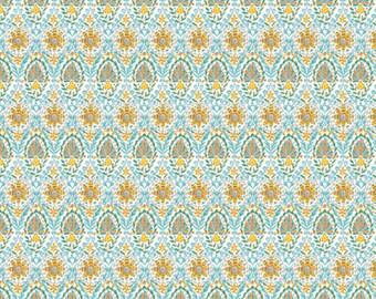 Dena Designs Bohemia PWDF275 Talavera Saffron Cotton Fabric By Yard