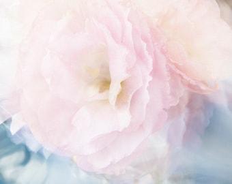 Peony Fine Art Print, Pink Peony Art , Floral Decor, Peony Photograph, Romantic Bedroom Decor