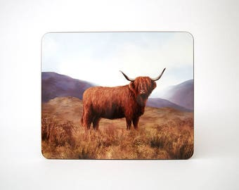 Highland Cow Table Mat