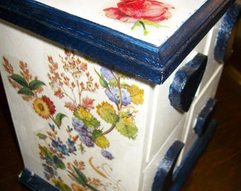 Rustic dresser or Cabinet for deco jewelry