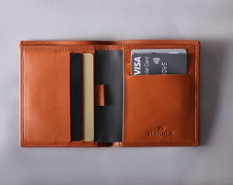RFID Bifold Wallet | Slim RFID Leather Wallet | Mens Slim Bifold Leather Wallet | RFID Wallet | Mens Leather Wallet | Minimalist Wallet