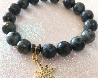 Gold Starburst Bracelet