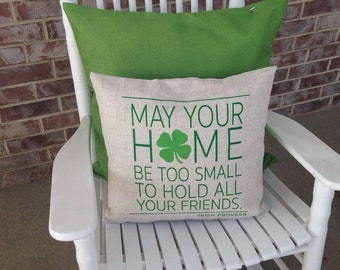 Irish Proverb Pillow