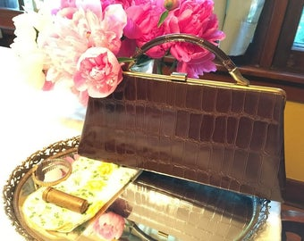 Dover Made in the USA Brown Purse