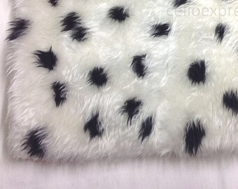 Faux Fake Fun Animal Fur - Choice of Patterns - Soft 20mm Pile - Sold in Various Lengths - DIY Teddy Bear Crafts