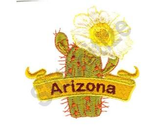 Arizona Saguaro Cactus - Machine Embroidery Design