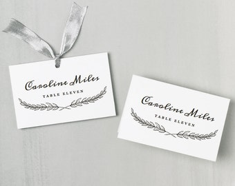Place Card Templates For Mac Geccetackletartsco - Place card template free download