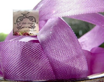 Rayon Seam Binding Ribbon Lavender