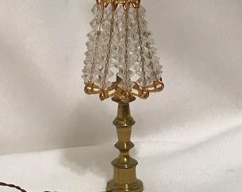 "Dollhouse Miniature 1"" Scale Lamp"